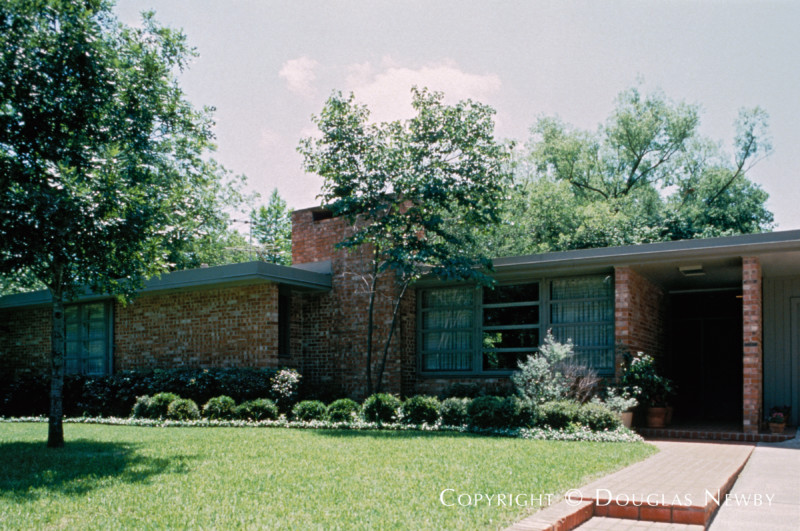 O'Neil Ford Designed Home in University Heights Original