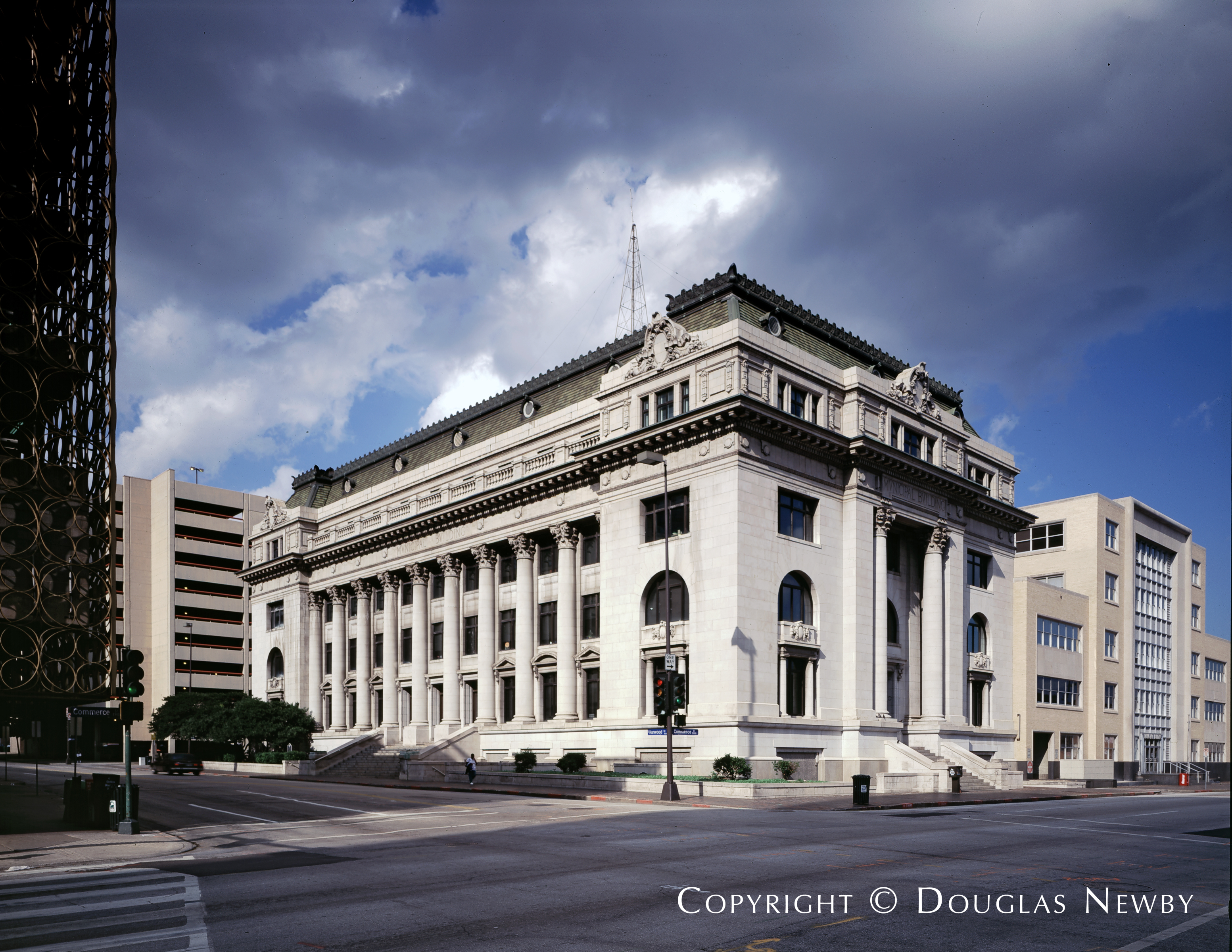 Architect C.D. Hill Designed Home in Downtown Dallas