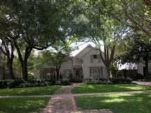 University Highlands Home, Dallas, Texas