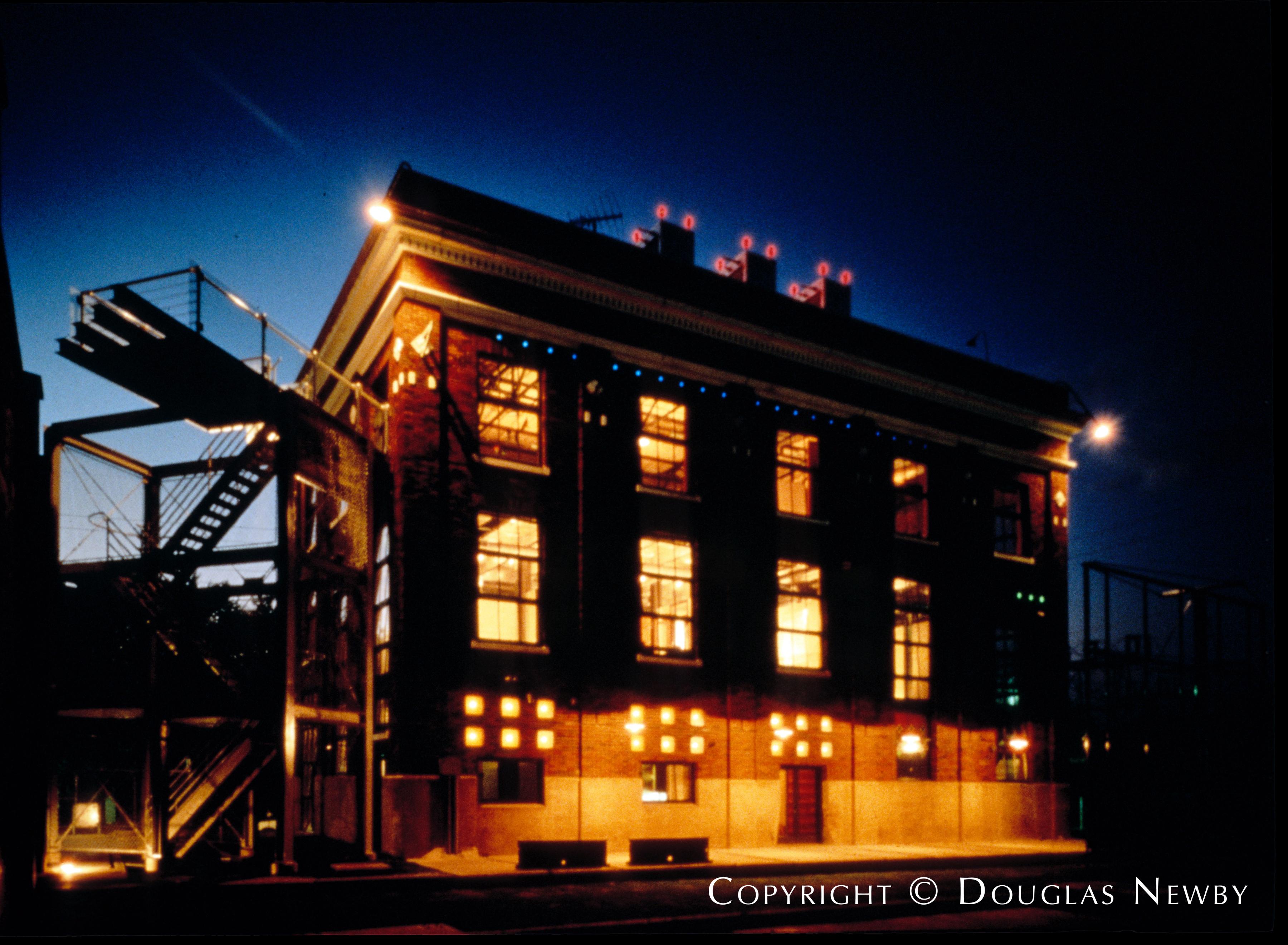 Gary Cunningham Designed Industrial Home