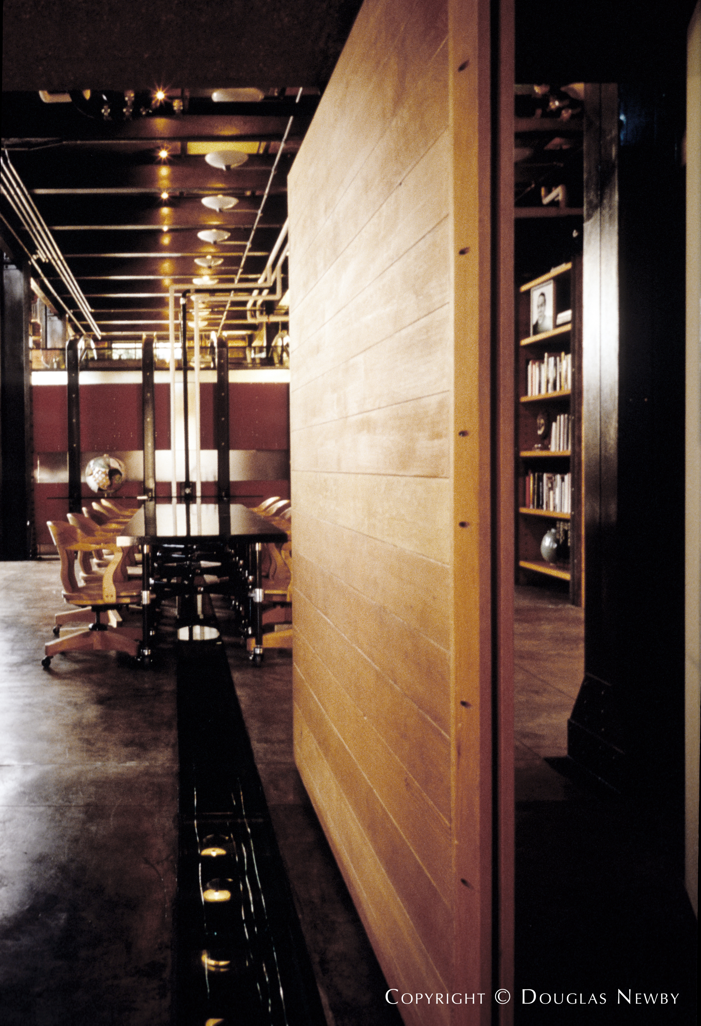 Architect Gary Cunningham Designed Industrial Home