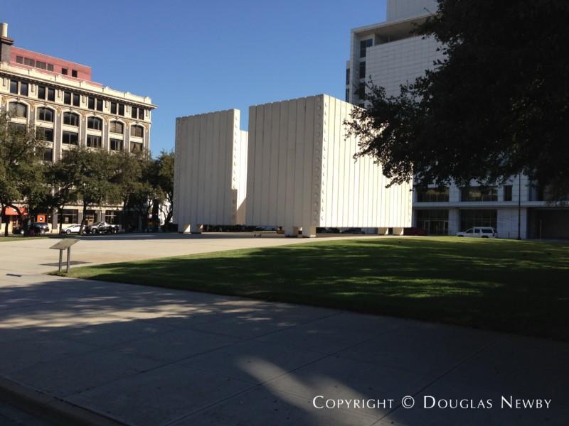 Downtown Dallas Architecture by Philip Johnson
