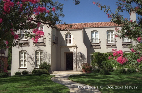 Architect Wilson Fuqua Designed Spanish Colonial Real Estate in ...