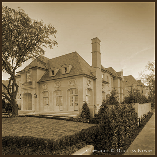 Clint Pearson Home on Lexington Avenue, Dallas, Texas