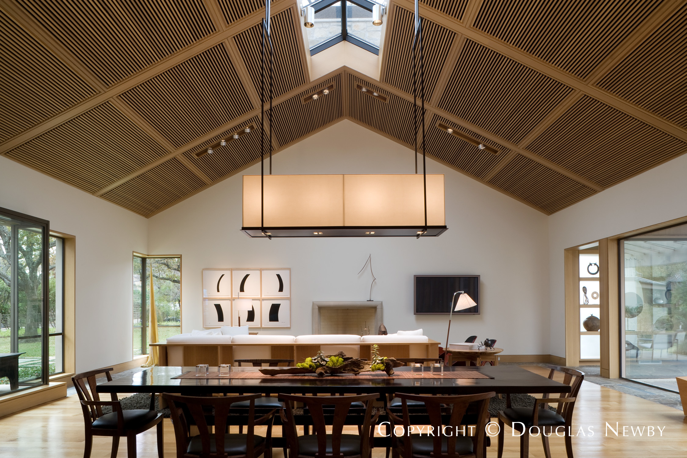 Dining Room Designed by Paul Draper