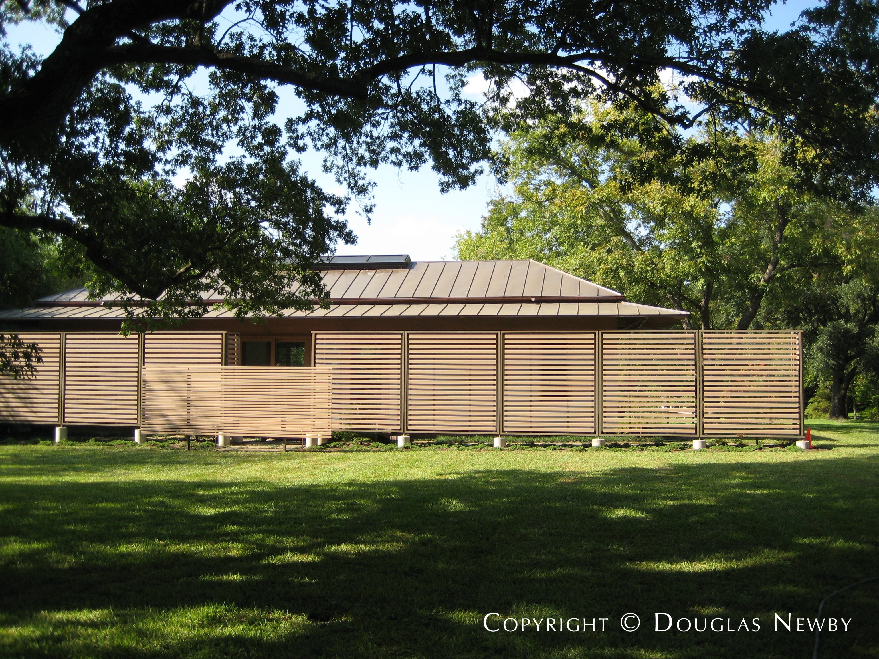 Architect Frank Welch Designed Home Pool House