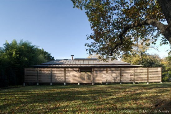 Texas Modern Estate Home Designed by Architect Frank Welch - 5623 Farquhar Lane
