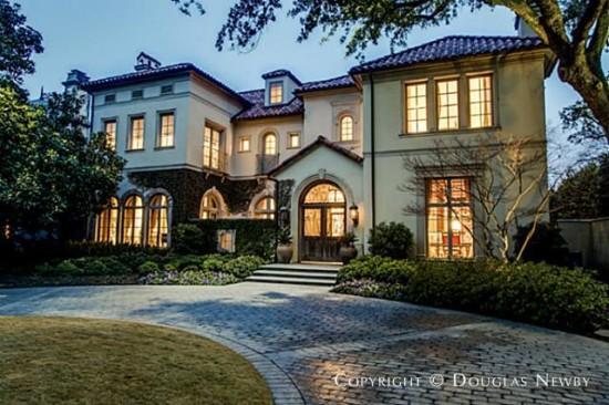 Mediterranean Home Designed by Architect Richard Drummond Davis - 3516 Beverly Drive