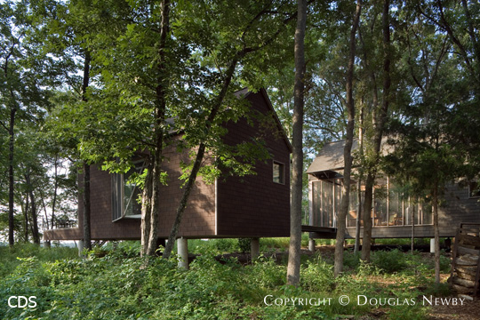 House at Wind Point, Lake Tawakomi, Texas