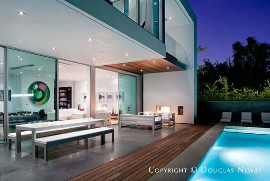 Steven kent designed southern california modern real for Modern homes southern california