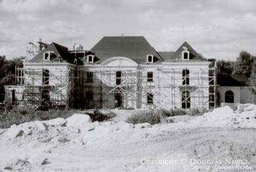 Original Crespi Estate During Construction