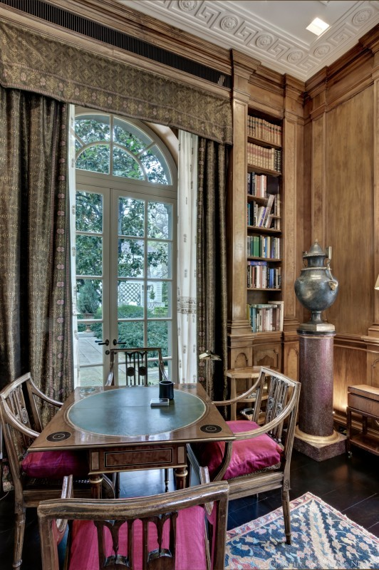 Window in a Study in the Crespi Hicks Estate Home