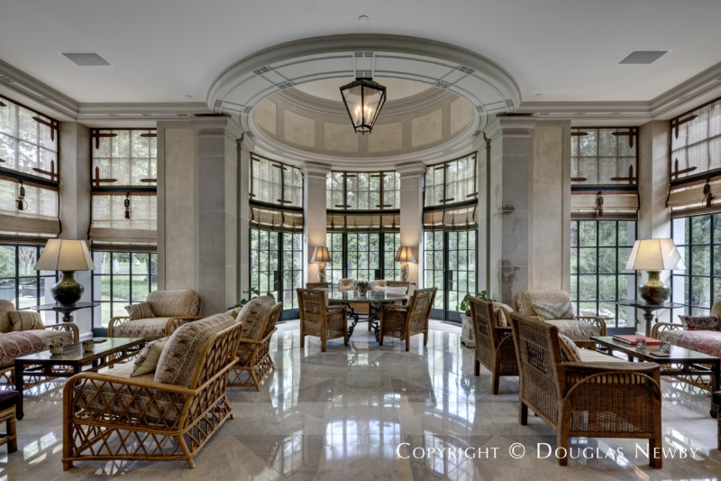 Private Air Features Crespi Hicks Estate Home Dallas