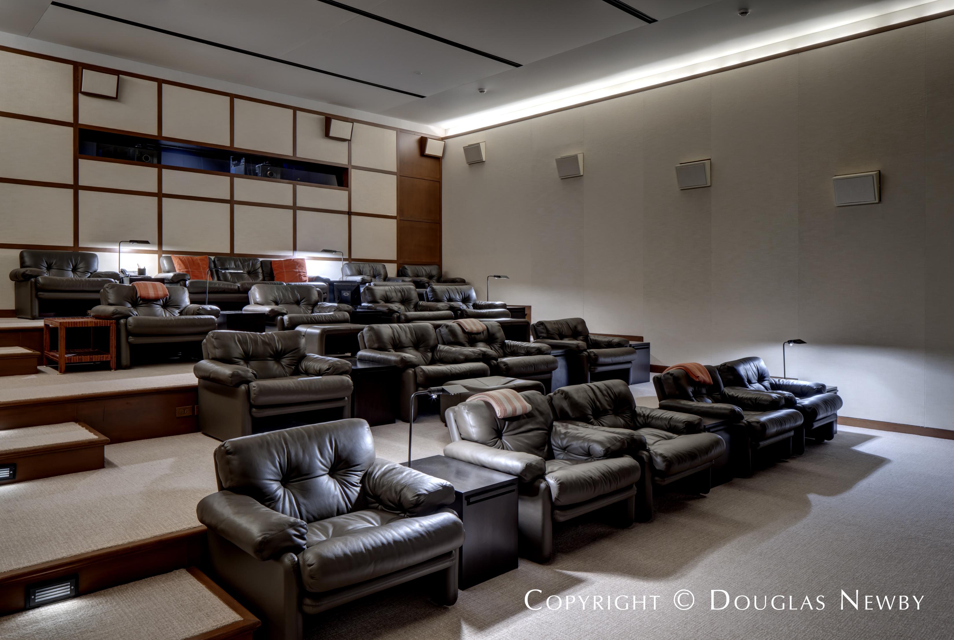 Estate Home Private Theatre