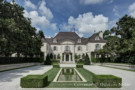 The Magestic Crespi Hicks Estate Home as Viewed from the Formal Motor Court
