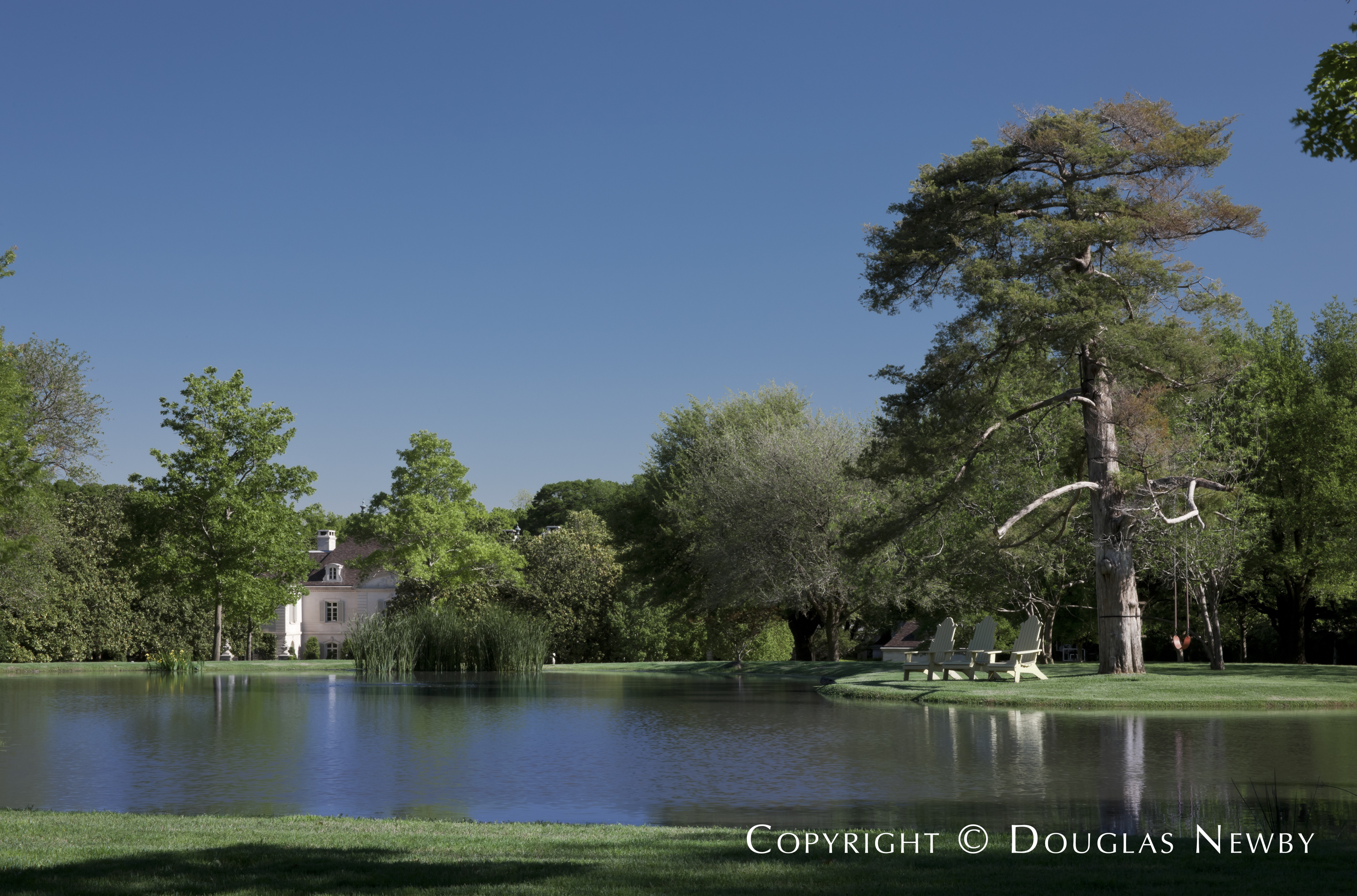 Peaceful Pond on the Crespi Hicks Estate Property
