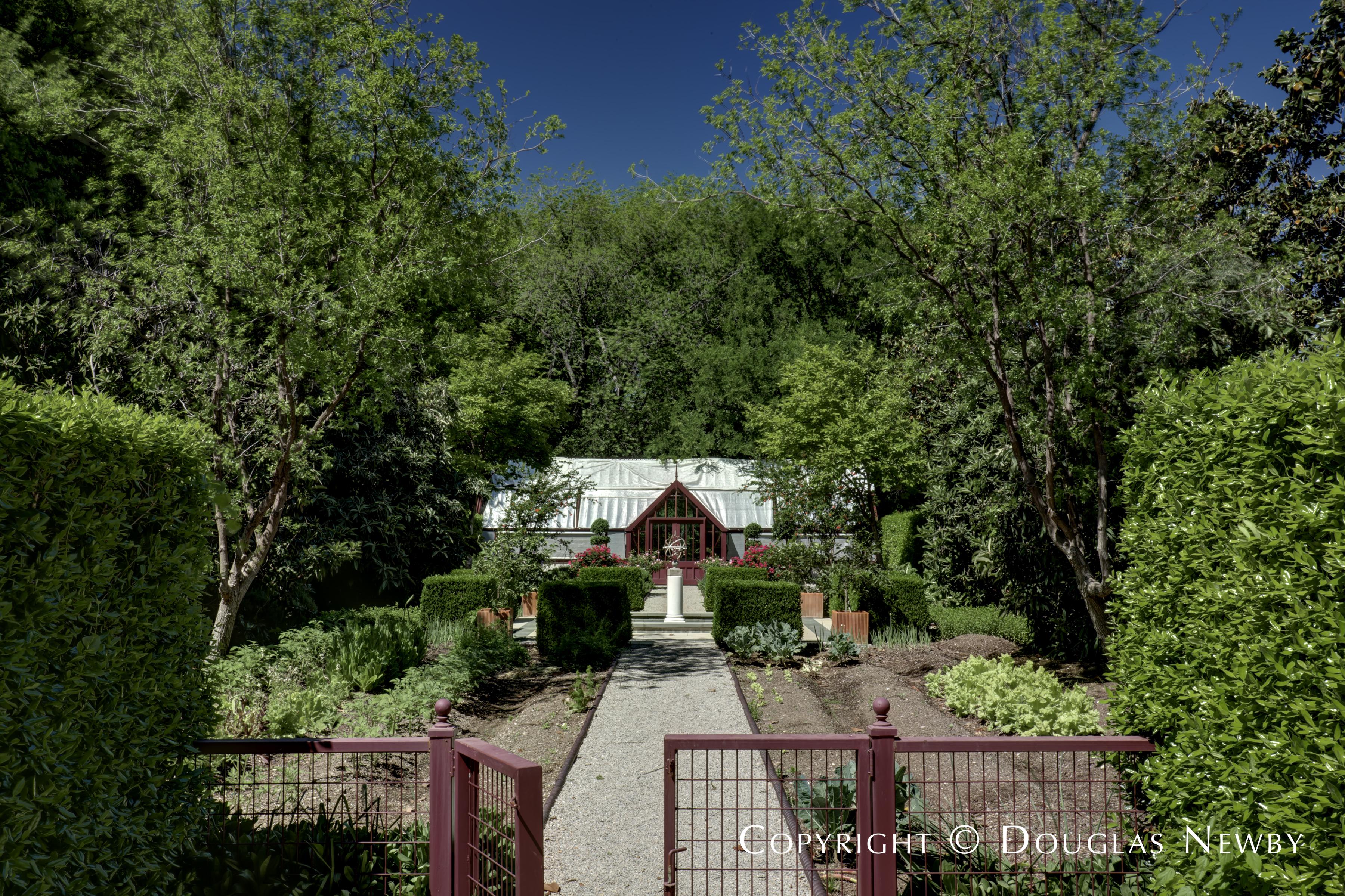 Green House on Dallas Estate Property
