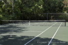 Tennis Court in Estate Home at Mayflower Estates