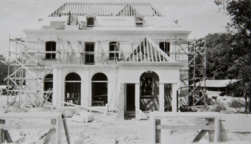 Original Crespi Estate in Progress