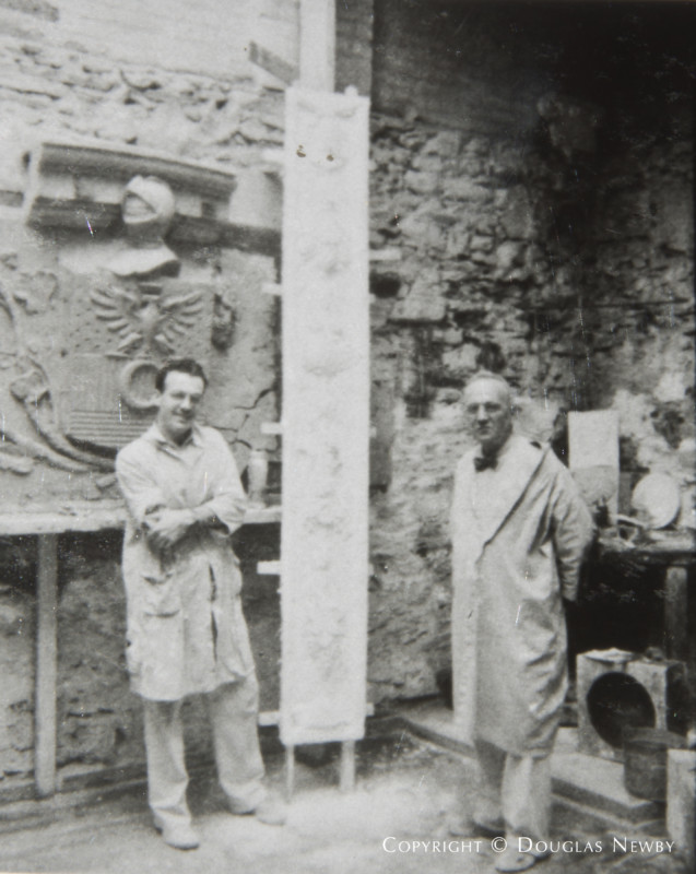 Onsite Stone Carvings at Crespi Estate