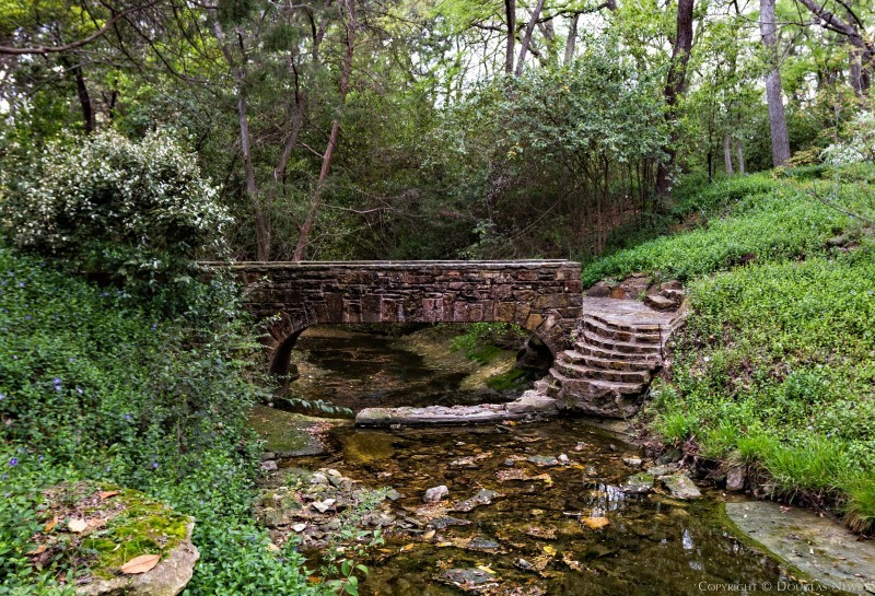 Stone Bridge Outside on Dallas Estate Property