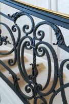 Iron Work in Home in Preston Hollow