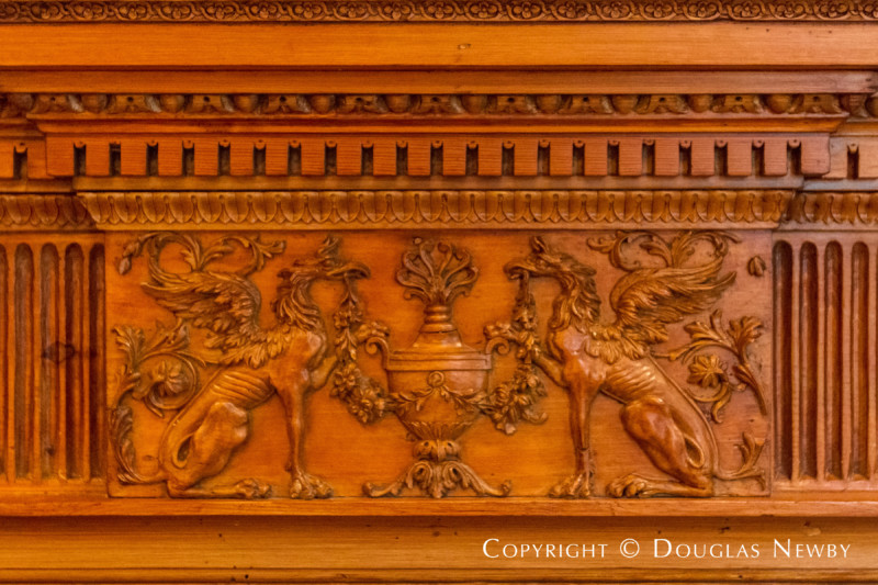 Intricate Woodwork in Architect Maurice Fatio Designed Home