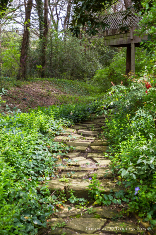 Stone Path on Estate Property