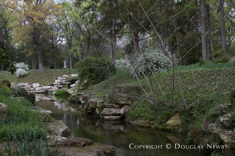 Stream Running Through Wilderness on Mayflower Estates Property