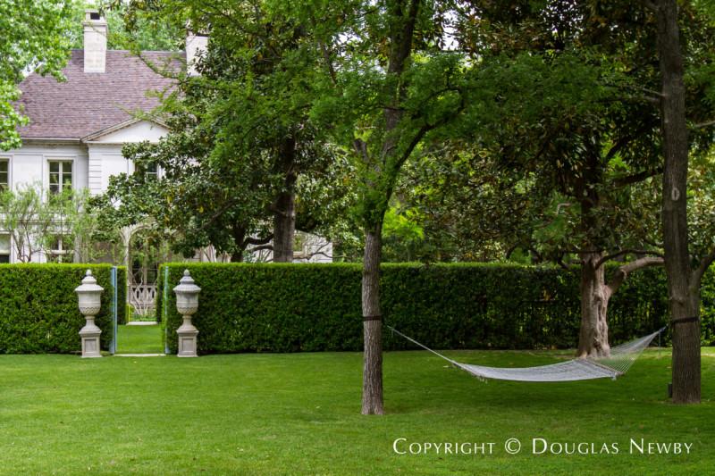 Landscape Outside of Dallas Estate Property