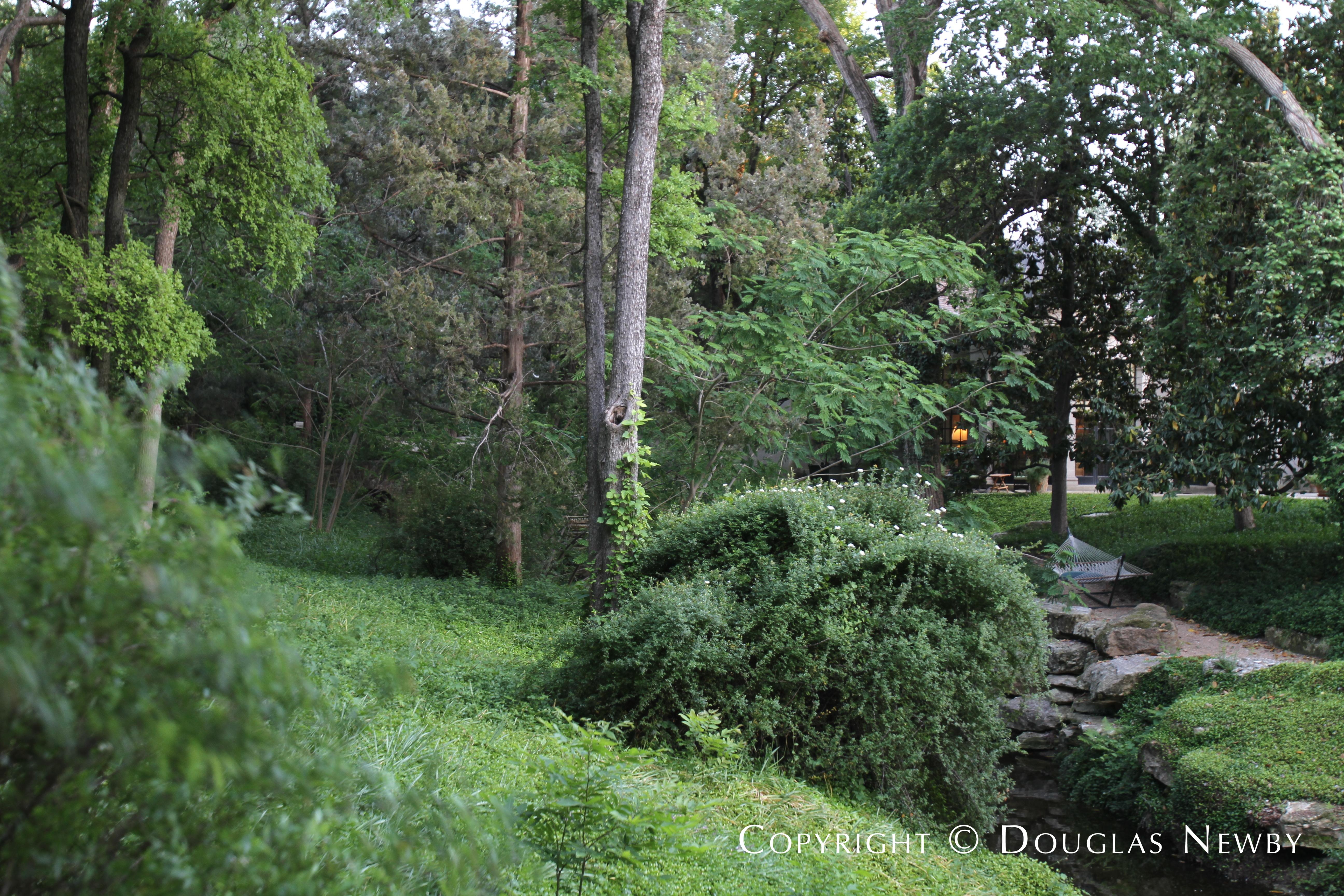 Creek in Mayflower Estates Property