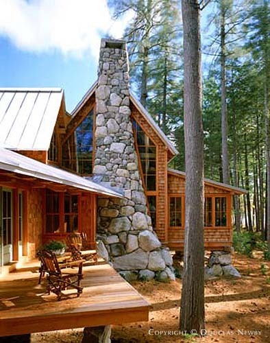 Whitten Architects Designed Maine Camp In Bridgton Maine