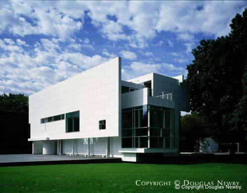Richard Meier Designed Rachofsky House In Dallas Texas