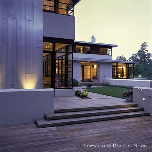 Patrick sutton associates designed private residence in for Modern homes in maryland
