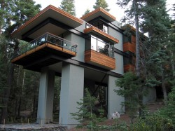 Architecturally significant homes and historic homes in for Lake tahoe architecture firms