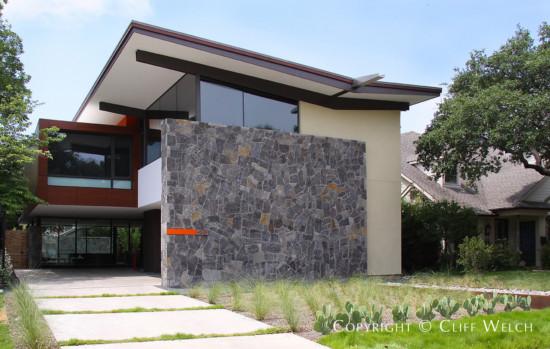 Cliff Welch Designed Modern Home in Highland Park