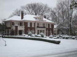 Snow Falls on Swiss Avenue