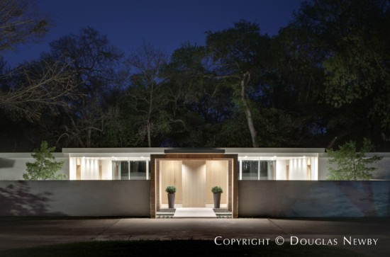 Bentley Tibbs Designed Mid-Century Modern Home