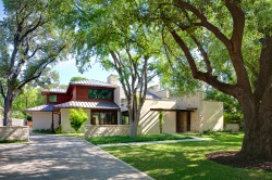 Todd Hamilton Designed Modern Home in Preston Hollow