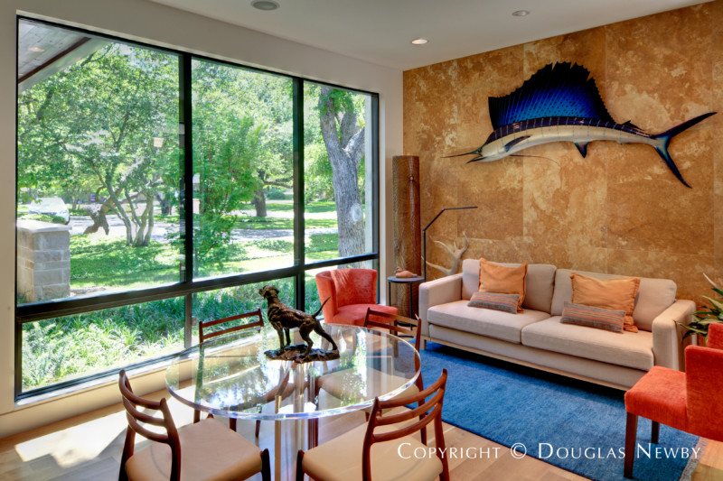 Interior of Dallas Modern Home