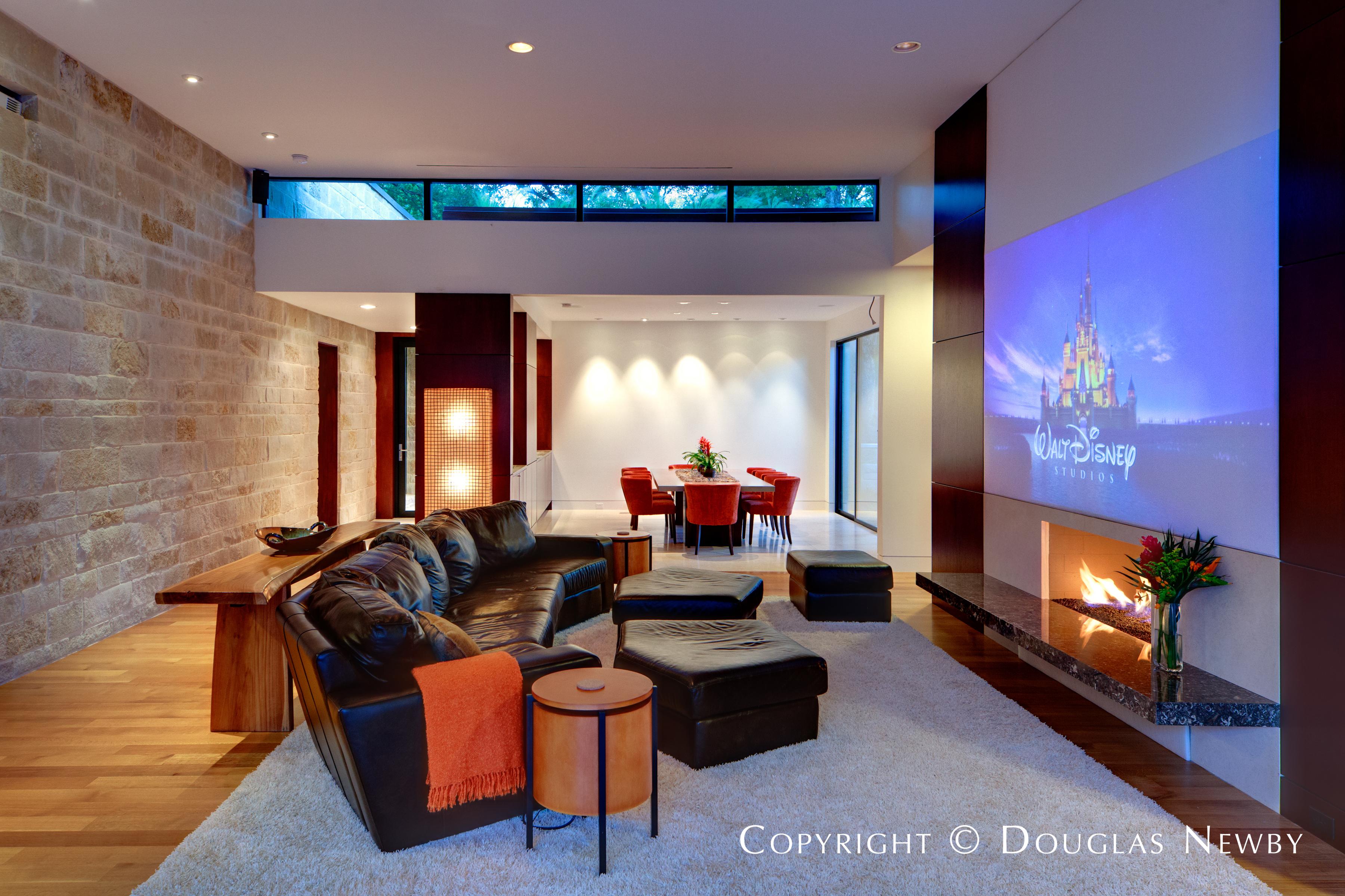 Dallas Modern Home By Architect Todd Hamilton