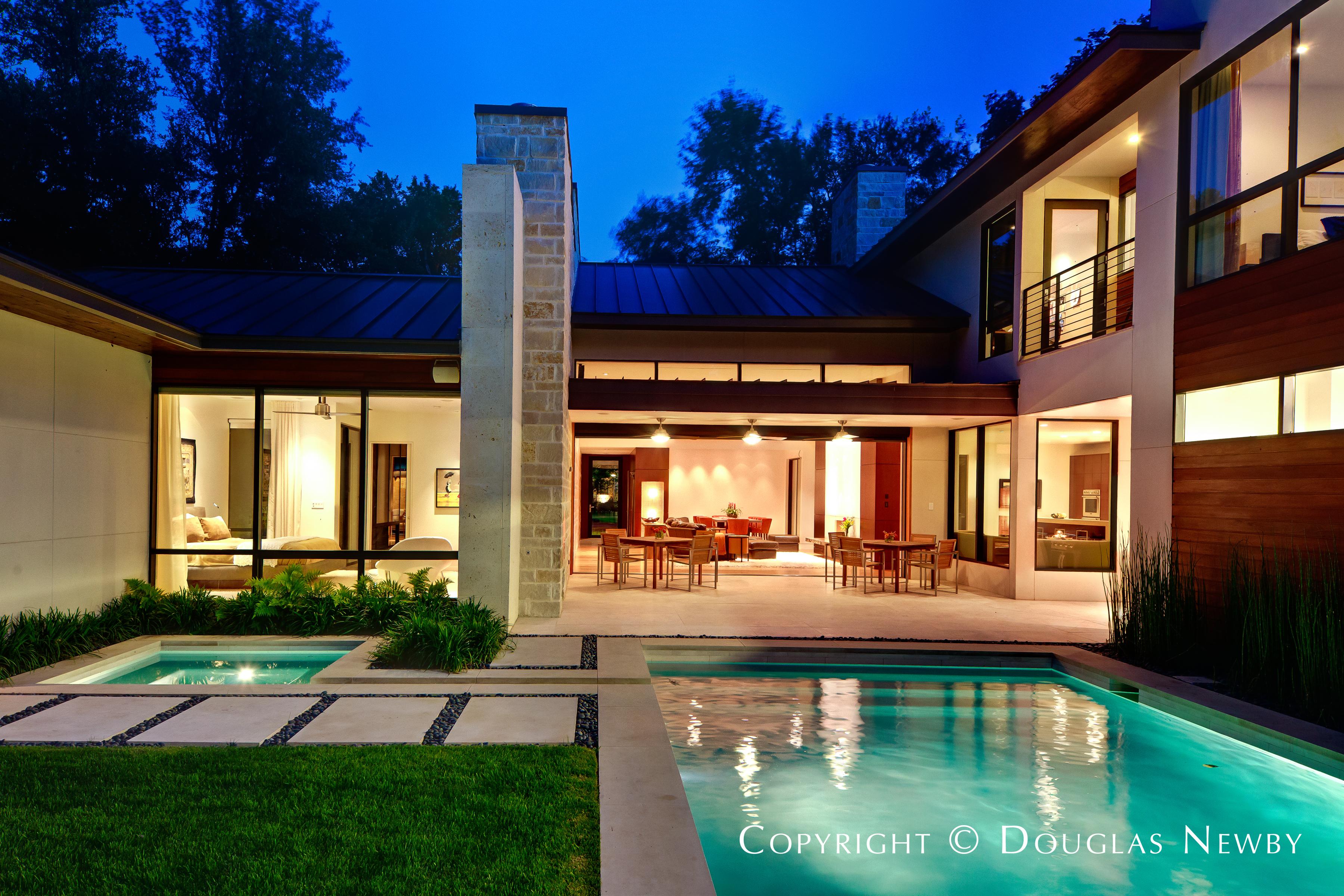 Dallas Modern Home By Architect Todd Hamilton Architecturally Significant Homes