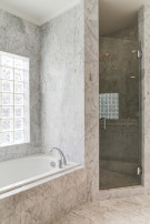 Master Bathroom in Home in the Highland Park Neighborhood
