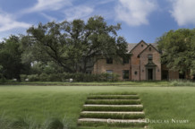 Estate Home Designed by Architect David Hocker - Renovated Hassie Hunt Original Home David Hocker Landscape Design