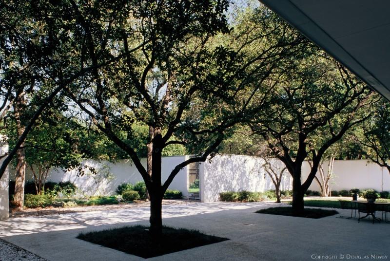 Outside of Edward Durell Stone Designed Property