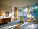 Bedroom of Architect Edward Durell Stone Home