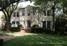 Home Designed by Architect Wade H. Klamberg - 4504 Arcady Avenue