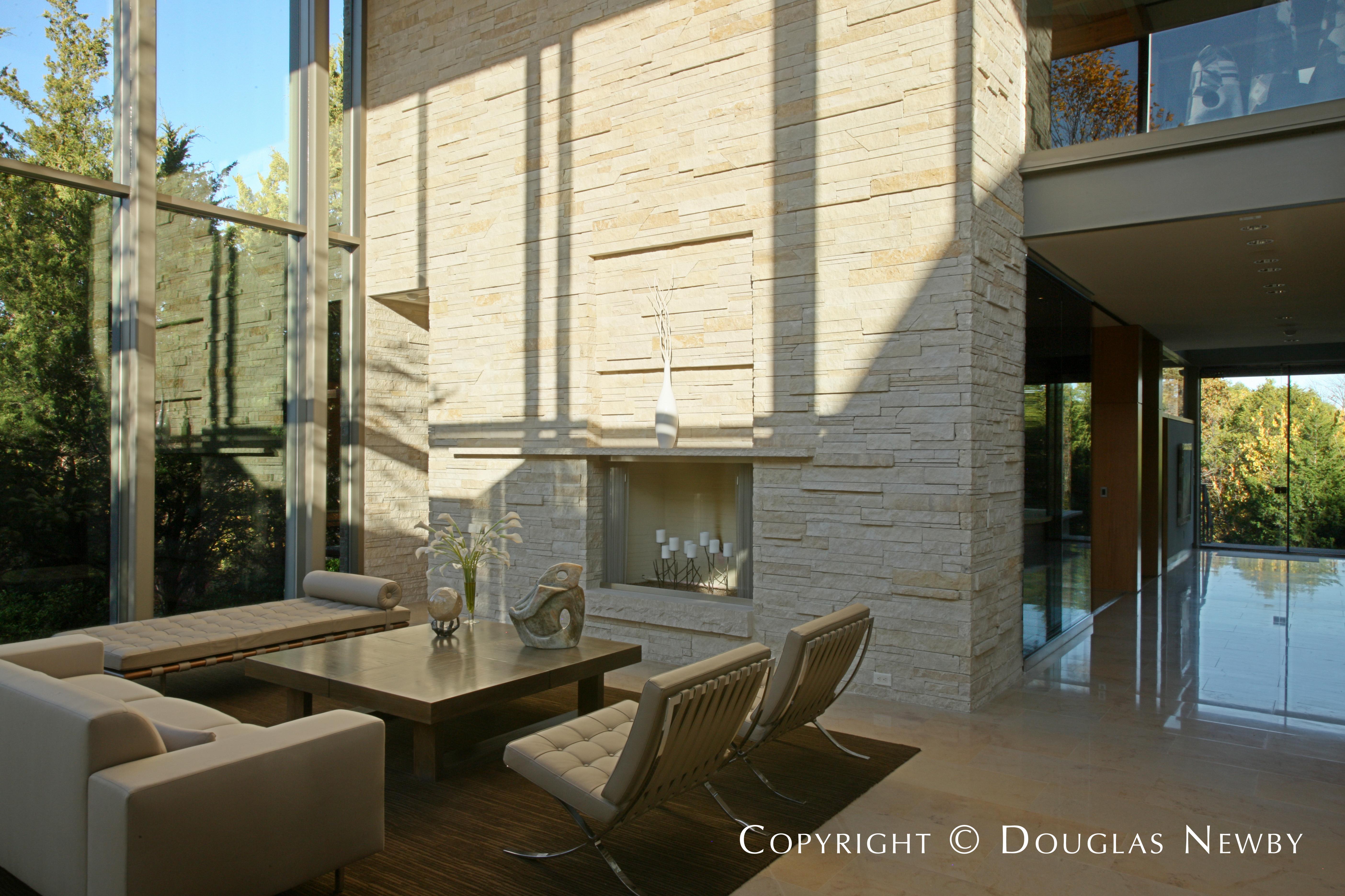 Glen Abbey Modern Home Living Room