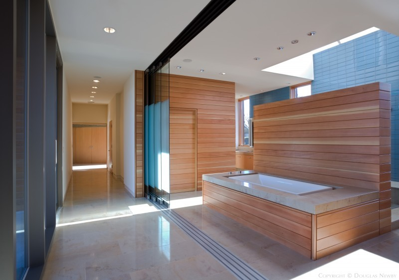 Oglesby·Greene Architects Designed Bathroom in Glen Abbey Modern Home