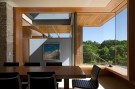 Breakfast Area With Open View Found in Glen Abbey Modern Home